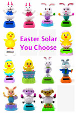 New Solar Powered Dancing Easter Bunny, Chick and Lamb -FREE SHIPPING You Choose