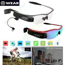 Bluetooth 4.0 Smart HD Video Recording Glasses Spy 8.0MP Camera Phone Call Music