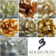 5MM DOUBLE SATIN RIBBON SHADES OF NEUTRAL 7 SHADES,6 WIDTHS 4 LENGTHS BERISFORDS