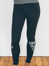 Ash & Rose Synergy Organic Cotton fair trade freebird yoga leggings black eagle