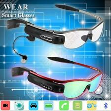 Portable Bluetooth Smart HD Video Recording Glasses Spy Camera Phone Call Music