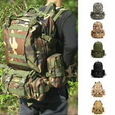 Outdoor Molle Military Tactical Assault Backpack Rucksacks Camping Trekking Bag