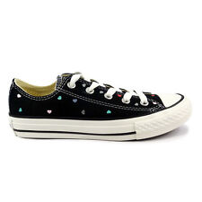 Youths Converse Chuck Taylor All Star Spec Ox Black Trainers