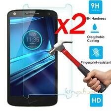 2x 9H LCD Tempered Glass Screen Protector Film For Motorola Droid Turbo 2 XT1585