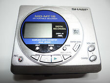 Sharp MD-MT15S Portable MiniDisc Player/Recorder *as is.. for parts or repair