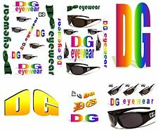 New hot design DG stylish unisex sunglasses for all activities in 4 different co