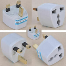 Universal AU US EU to UK AC Power Plug Travel Wall Converter Cord Euro