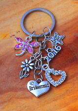 Personalised Wedding Bridesmaid, Bride Gift -  Keepsake Gift -