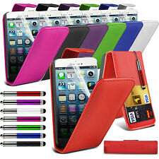 Top Flip PU Leather Phone Case Skin Cover+Film+Pen for Apple iPhone 6s 6