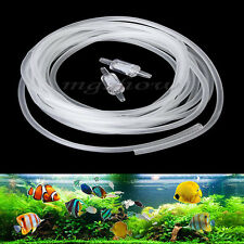 5M Air Pipe Tube Hose Line Pump w Check Valve for Oxygen Aquarium Fish Tank Pond