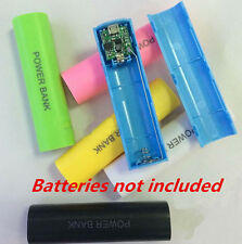 2600mAh Battery For All Phone Box Charger Bank USB 18650 Power Case Kit