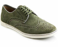 Hush Puppies Men's Carver Shoes - Green Suede