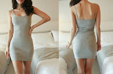 Package Sleeveless Bottoming Hip Tight Summer Skirt Dress Vest Slim