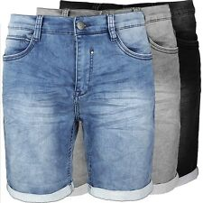 Mens Jean Shorts pant denim JoggJeans stretch shorts jeans comfortably