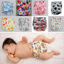 Clean Infant Baby Pocket Nappy Cloth Reusable Diaper BAMBOO CHARCOAL Cover Wrap