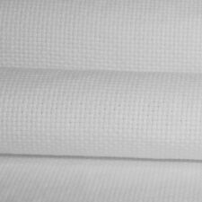 "DMC Aida,11 to 22 Ct -choose Count & Size-White, up to 60""x62"" size - Brand New"