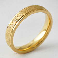 Vintage  Classic 14K gold filled Band Promise Love Band Ring Size 8-11