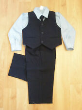 NEW Baby Boy & Toddler Easter Formal Vest Suit  12M 18M 24M 2T 3T 4T Navy/Blue