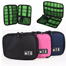 Digital Electronic Storage Bag Case Multifunctional Organizer Holder Travel Zip