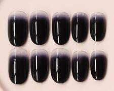24 Pcs Fashion Nail Art Full False Artificial Fake Nails Tips French Style Cute