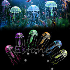 Jellyfish Decor Aquarium Decoration Artificial Glowing Effect Fish Tank Ornament
