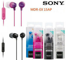Sony MDR-EX15AP Colored, EX Monitor Headphones for Smartphone-Genuine& Brand New