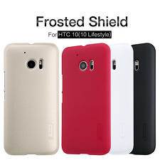 Nillkin Frosted Shield Matte Hard Back Cover Skin Case +LCD Film For HTC One M10
