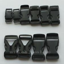 "20 Buckle Side Release Paracord webbing 3/8"" 1/2"" 5/8"" 3/4"" 10mm 12mm 16mm 19mm"
