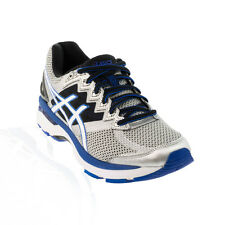 Asics - GT 2000 V4 Running Shoe - Silver/White/Royal