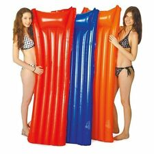 INFLATABLE AIR MATTRESS AIR BED MAT LILO LOUNGER SWIMMING POOL BEACH HOLIDAY NEW