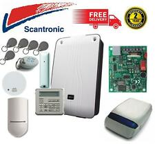 SCANTRONIC ION16 CONTROL PANEL BURGLAR ALARM ALERT COMPLETE SYSTEM FIRE SAFETY