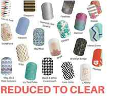 Jamberry Nail Wraps - Assorted Half Sheet Designs