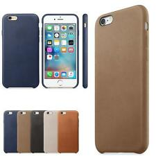 Ultra-thin Luxury Soft Leather Back Fitting Case Cover For iPhone 6S Plus5.5
