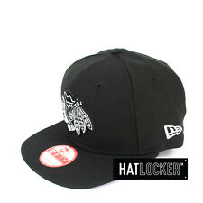 New Era - Chicago Blackhawks Black White Logo Snapback