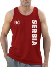 Serbia National Football Team Soccer Fans Singlet Gift Idea