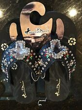 Montana West Cowgirl Western Rhinestone Bling Flip Flops Wedge Sandals SE128