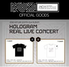 JYJ Kim Jae Joong Hologram real live Concert in Seoul official goods T-SHIRT