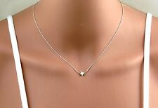 Silver tiny star necklace,gold tiny star necklace ,dainty gold filled  star