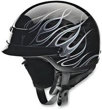 New Z1R Nomad Hellfire Motorcycle Half Helmet (All Colors Available)