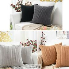 "Large  Chenille Weave Cushions Scatter/Deco High Quality 20"" X 20"" EACH"