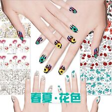 1 Sheet Nail Tips Manicure Decoration Nail Art Stickers Water Transfer Decals