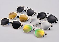 Women's Gold Retro Cat Eye Sunglasses Classic Designer Vintage Fashion Shades