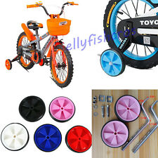 """KIDS CHILDS BICYCLE BIKE CYCLE CHILDREN STABILISERS 12-20"""" INCH TRAINING WHEELS"""