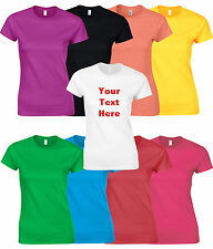 Custom Personalised Printed T-Shirts T Shirt Stag Hen Charity Wholesale - Womens
