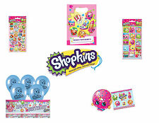 SHOPKINS BIRTHDAY PARTY LOOT BAG FAVOURS