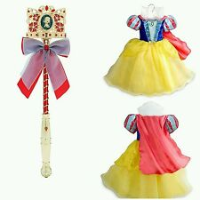 Disney Store Snow White Princess Costume & Disney Store Snow White Light-Up Wand
