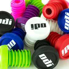 ODI Bar Ends x 2 + FREE STICKERS ( Scooter grips / BMX / Grip )