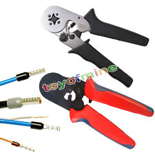 AWG23-10 Self-adjustable Ratcheting Ferrule Plier Crimper HSC8 6-4A 0.25-6mm²