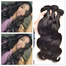 150g/3 Bundles Brazilian Body Wave Virgin Hair Human Hair Extensions Weave weft