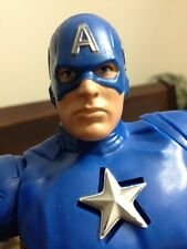 "Marvel Captain America 2012 Action Figure Talking 11"" Toy Twist Doll"